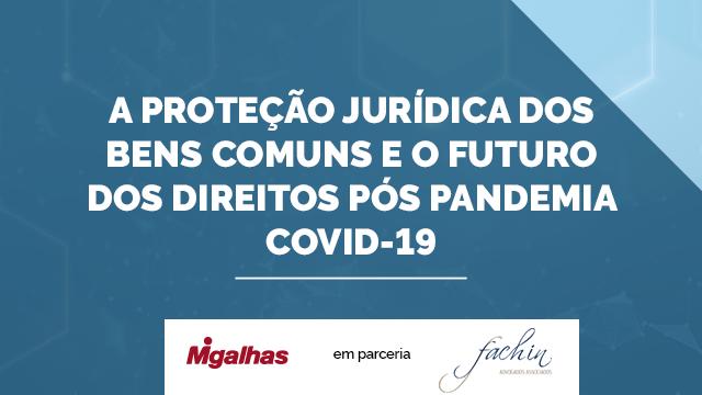 A proteção jurídica dos Bens Comuns e o futuro dos direitos pós pandemia covid-19